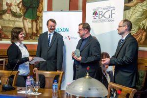 I. OBB díjátadó - első helyezett